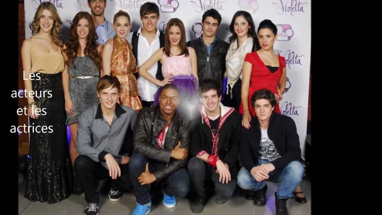 Violetta personnages saison 1 youtube - Violetta personnage ...