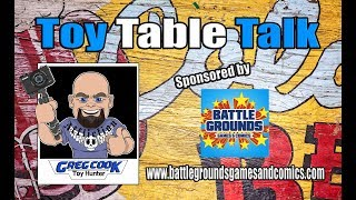 Toy Table Talk - Funko Pops, Marvel, DC, Hot Toys, Black Series, Comics and More