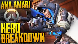 New Overwatch Hero! | Ana Amari Gameplay Guide | Weapons, Abilities & Lore BREAKDOWN (+ Patch Notes)
