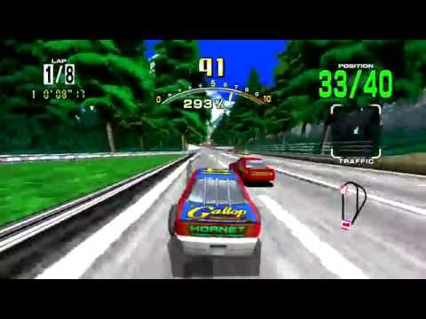 Daytona USA (PSN/PS3) #33 LongPlay HD