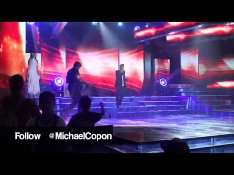 Michael Copon singing marry you by bruno mars on ASAP!!!.wmv
