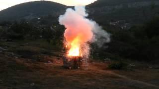 Quemando 1000 Cebollitas Fuegos Pirotecnicos