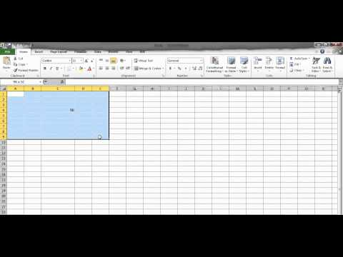 What is a Cell, Range, Column, and Row in Excel