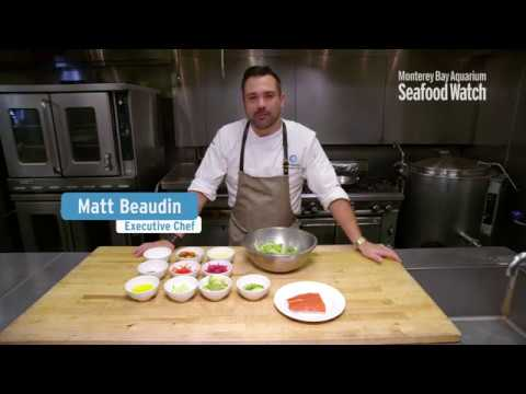 Trout Salad by Monterey Bay Aquarium Chef Matt Beaudin