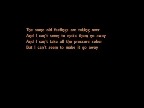 Sympathetic Seether with lyrics on screen