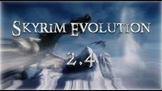 Прохождение SKYRIM EVOLUTION 2.4 RC. II #3 II Исследуем Новый Вайтран!