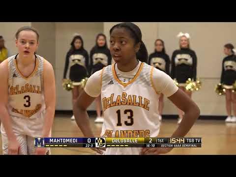 High School Girls Basketball: Mahtomedi vs. DeLaSalle