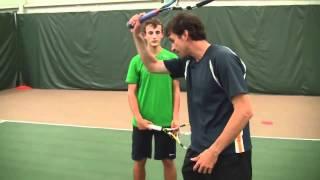 Tennis Express Academy: Extreme Running Forehand With Jeff Salzenstein