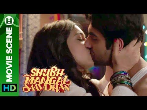 Bhumi Pednekar & Ayushman's steamy kiss
