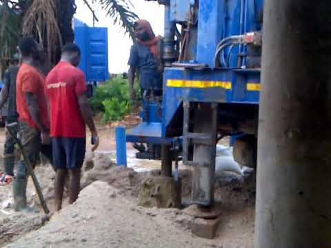 Borehole development and washing
