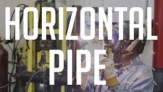 6010 Horizontal Pipe - Root | Hot | Cap Passes
