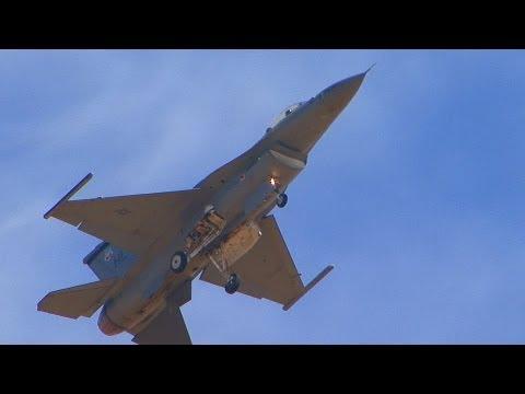 2012 California Capital Air Show - F-16 Viper West Heritage Flight (Saturday)