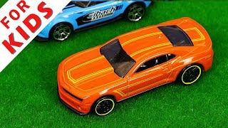 Cars Compilation for Kids . Hot wheels