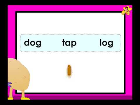 Kindergarten phonics worksheet - words with short vowel sounds - which ...