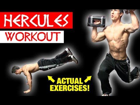 Kellan Lutz - Hercules Workout (Actual Exercises!)