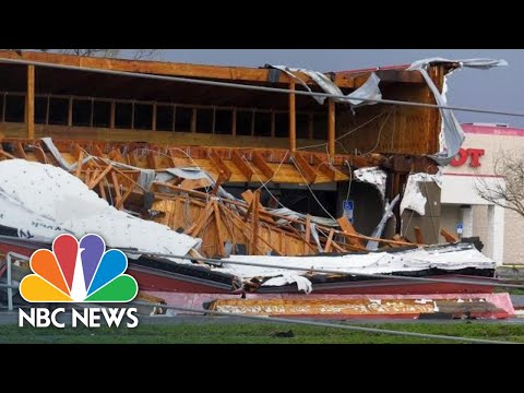 Hurricane Michael Batters Panama City With Destructive Winds | NBC News