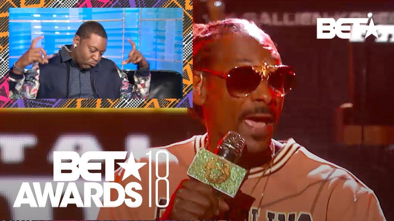 Majah Hype's Hilarious Reaction To Snoop Dogg's Performance & More | BET Awards 2018