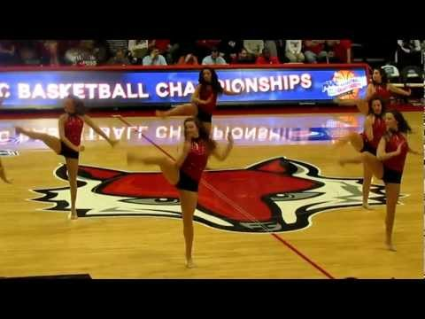 Marist College Dance Team During a Timeout vs Fairfield - Men