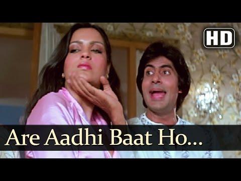 Aadhi Baat Ho Chuki - Amitabh Bachchan - Zeenat Aman - Mahaan - Bollywood Superhits - Bedroom Song Mp3