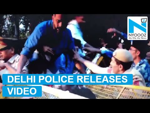 Watch: JNU Students Assault Police Men in Delhi | NYOOOZ TV