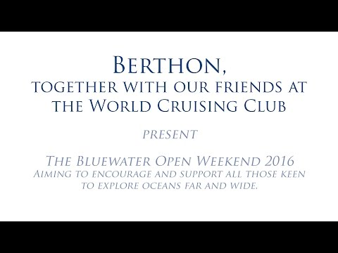 Bluewater Open Weekend 2016 - 4 Bluewater Cruising Technique