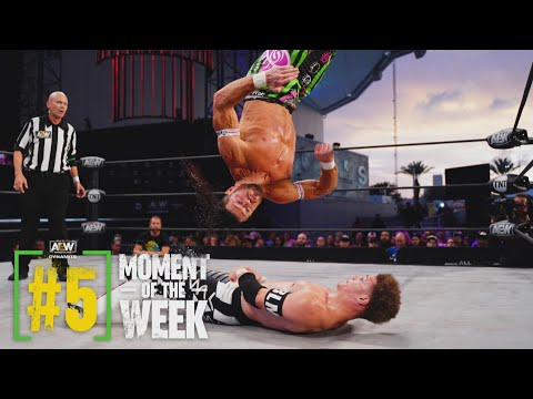 Did Dante Martin Overcome the Odds to Beat Matt Sydal?   AEW Saturday Night Dynamite, 6/26/21