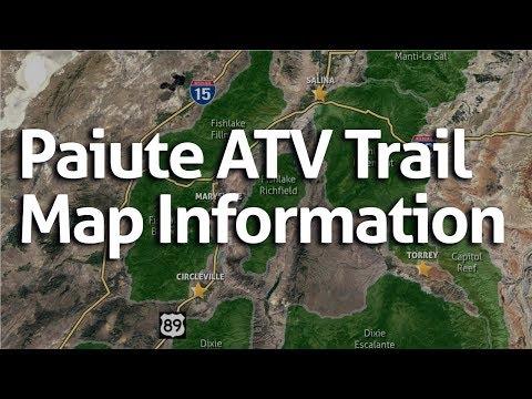 Paiute ATV Trail Maps Information