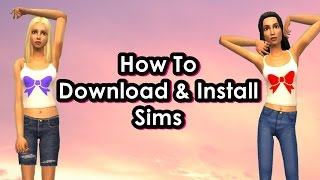 How To Download & Install Sims On The Sims 2 - Step By Step Demos