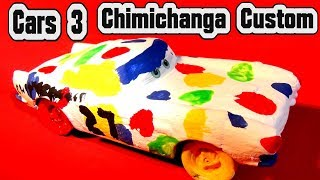 Pixar Cars 3 Custom Chimichanga Demolition Derby Crazy 8 Car with Primer Lightning McQueen Cars