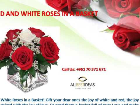 Romantic Heart Shape Flowers in Lebanon : 96170371671