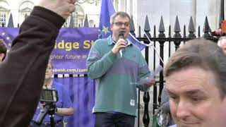 Paul Browne & message from Heidi Allen MP to Cambridge Stays. 29 March 2019.