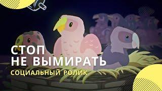 Социальная реклама за сохранение редких видов диких животных