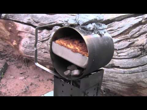 Turn Your Loop Handle Billy Bush Pot Into A Camp Oven Zebra Baking Pans