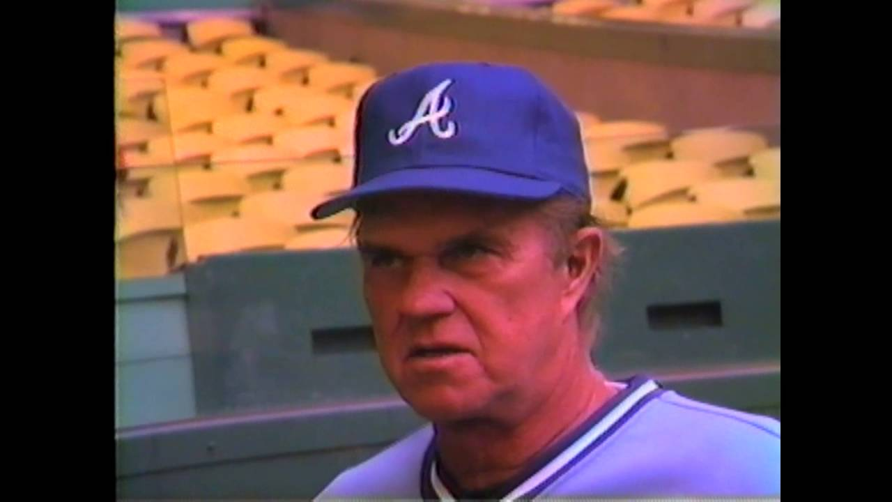 Braves Pitching Coach Johnny Sain - 1985