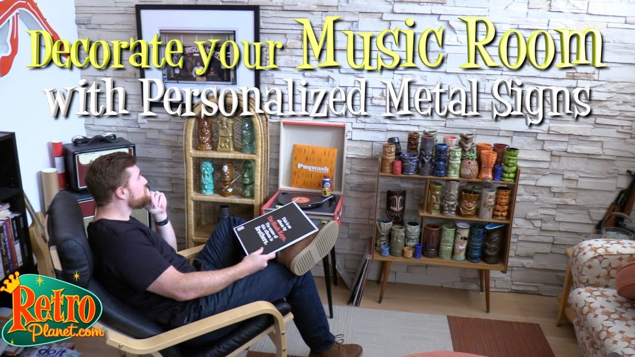 How To Personalize Your Living Room With Coca Cola Metal Signs Youtube