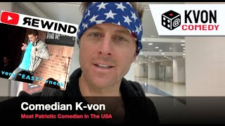 "This Comedian Can Show You ""The World!"" (a fun KvonComedy Rewind)"