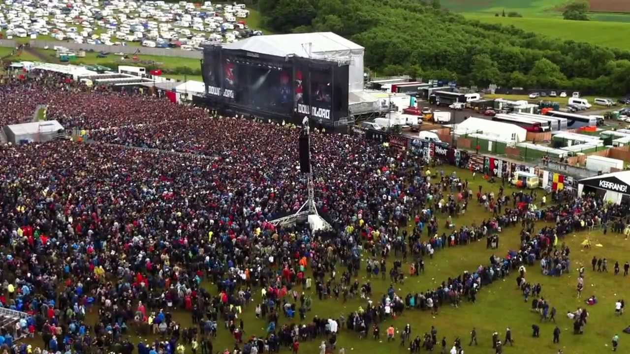Populaire Funny moment, Download Festival 2013 England. PANIC ATTACK  MU58