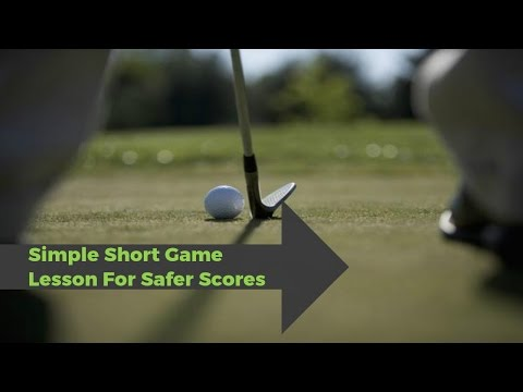 Golf: How To Chip And Pitch With A Common Sense Simple Golf Tip