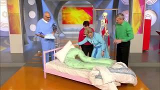 Подушку для беременных рекомендуют специалисты:-)(Такую подушку можно приобрести не только для беременных, но и для обычных людей! Комфортно спать не запрети..., 2016-02-03T10:11:14.000Z)