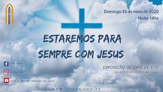 10/5/2020 Culto da noite (Ao vivo) - Rev. George Canêlhas