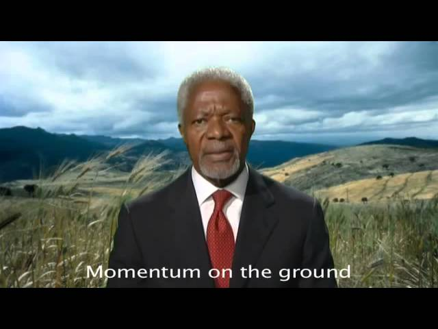 AGRF 2010 - Kofi Annan Calls for United Effort to Accelerate African Green Revolution