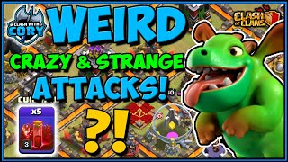 *Weird Crazy* TH10 ATTACKS! Town Hall 10 | Clash of Clans | COC