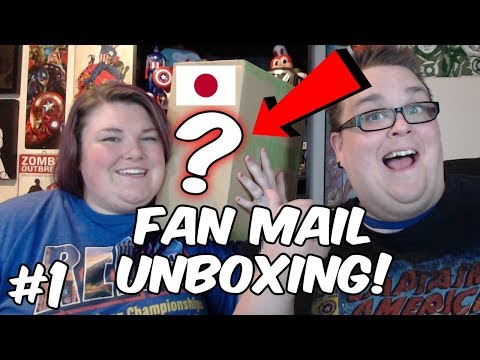 JAPANESE SNACKS AND TOYS UNBOXING!!! FAN MAIL #1