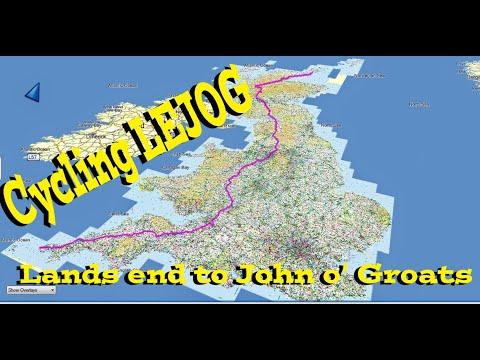 Lands End to John 0' Groats - Cycling  LEJOG