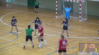 【Bad Schwartau vs Siraume gakuen 白梅学園】SANIX CUP U-17 Internationa HandBall Tournamen 2019nt019