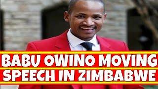 Babu Owino and Edwin Sifuna Delivers Raila Odinga Message to MDC in Zimbabwe