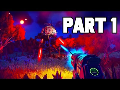 No Man's Sky Gameplay Walkthrough Part 1 - FULL GAME PS4 GAMEPLAY (1080p 60fps)