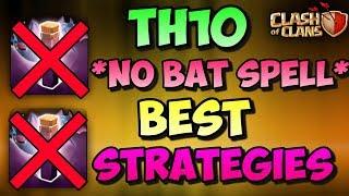 *NO BAT SPELL CHALLENGE* | Th10 Best War Attacks AGAINST ICWL CLAN |Clash Of Clans