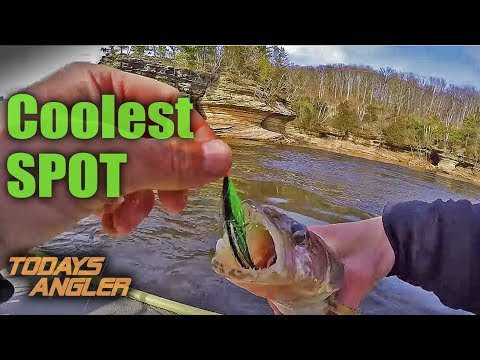 Wisconsin Dells Walleye/Sauger On Flies - COOLEST SPOT - Todays Angler