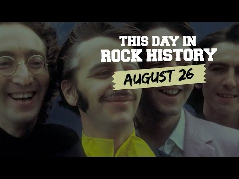Beatles Launch Apple Records, Isle of Wight Begins - August 26 in Rock History